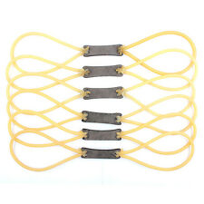 5X Rubber Elastic Band Slingshot Catapult Replacement Powerful Bungee Hunting US