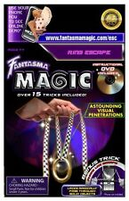 *NEW* Fantasma Magic Ring Escape 15+ Included Trick Tricks Set / DVD Illusions