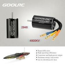 GoolRC 2948 4800KV 4 Poles Brushless Sensorless Motor for 600-800mm RC Boat E9K9