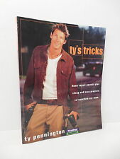Ty's Tricks Pennington Guide Book Trading Spaces Home Repair Secrets Projects