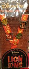 Disney Pins Lion King Lanyard Booster Set