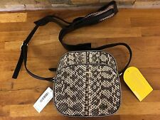 F.E.V BY FRANCESCA E. VERSACE Bonbon Snakeskin & Leather Cross-Body Bag RRP £559