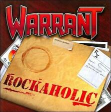 Rockaholic WARRANT CD ( FREE SHIPPING)