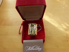 lenox Reed & Barton 2015  Baby's First Christmas Cup Sterling Silver Ornament