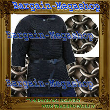 Butted Chainmail Shirt Large Chain Maille Armour Chainmaille Haubergeon
