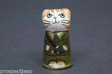 Merryfield Pottery Tribute to WW1 An Officer And A Gentleman Thimble B/94