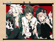 Danganronpa Trigger Happy Havoc Naegi Makoto Home Decor Poster Wall Scroll