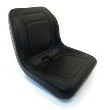 New Black HIGH BACK SEAT for Hustler ZTR Zero Turn Lawn Mower Garden Tractor