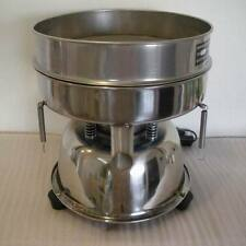 300mm Stainless Steel Electric Chinese Medicine Vibrating Sieve Machine 220V Y