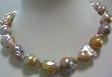huge Color AAA 15-24mm south sea baroque pearl necklace 18 INCH LL002