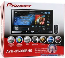 "PIONEER AVH-X5600BHS 7"" TV DVD USB MP3 CAR STEREO BLUETOOTH IPOD HD XM EQ AUX"