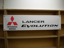 Mitsubishi Lancer Evo workshop banner