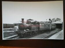 PHOTO  GWR CLASS 58XX LOCO NO 5802 AT SWINDON RCTS SPECIAL 18/8/57