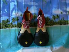 Vintage Vans Simpsons Krusty the Clown Shoes leather Men's 11 made in USA Rare !
