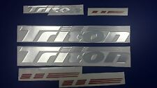 "Triton boat Emblem 20"" Epoxy Stickers Resistant to mechanical shocks Vinyl"