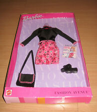 NRFB Barbie Fashion Avenue Flower Power Barbie Outfit