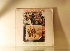 THE FOUR TOPS - MAIN STREET PEOPLE - ABC 1973 UK PRESS *BUY 1 LP GET 1 LP FREE*