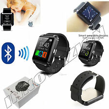 Bluetooth Smart Wrist Watch Phone Mate For Android IOS iPhone 6 Samsung HTC Sony