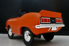 1969 Camaro Chevy Pedal Car A Vintage Hot Rod Midget Metal Show Model