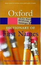 A Dictionary of First Names (Oxford Quick Reference)
