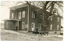 RPPC NY Champion Cheese Factory Loomis & Morrow 1910 Dog & Cat Jefferson Co