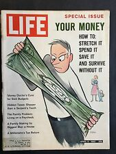 Life Magazine  April 6 1962  Special Issue   Your Money