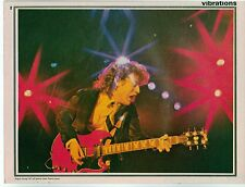 AC/DC 'hold that chord' magazine PHOTO/Poster/clipping 11x8 inches