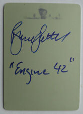 1/1 Bruce Sutter 2012 Leaf Inscriptions Printing Plate Yellow Auto #IBS1 1 of 1