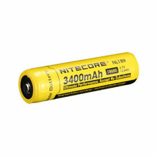 NiteCore NL189 Protected 3.7V 3400mAh 18650 Rechargeable Li-ion Battery