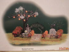 Department 56 Snow Village Halloween Haunted Front Yard with Box- 52924