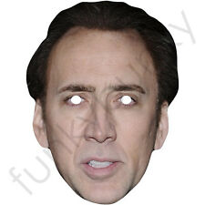 Nicolas Cage Actor Celebrity Card Face Mask - All Our Masks Are Pre-Cut!