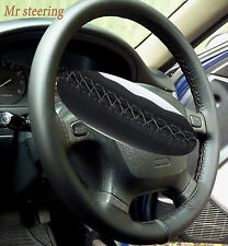 FITS CHRYSLER CROSSFIRE 03-07 QUALITY LEATHER STEERING WHEEL COVER GREY STITCH