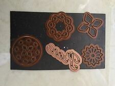 Set of Spellbinders dies for flowers/snowflakes
