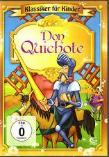 Don Quichote - TOP! Klassiker für Kinder: Ritterabendteuer, Zeichentrick DVD NEU