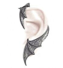 NWT A Night With Goethe Bat Wing Single Left Earwrap Earring Alchemy Gothic E376