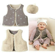 Double Side Reversible 0-24 Months Baby sleeveless Vest Outwear