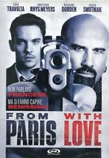 Dvd -FROM PARIS WITH LOVE- (USATO VENDITA) COME NUOVO