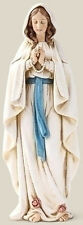 "SALE! 6"" Our Lady of Lourdes Blessed Virgin Mary Marian Statue Figurine NEW!!"