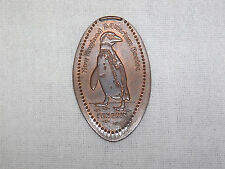 Vintage New England Aquarium Boston Elongated Penny Souvenir Penguin