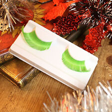 Xmas Feather Makeup Beauty False Eyelashes Eye Lashes Extension Long Thick Cross
