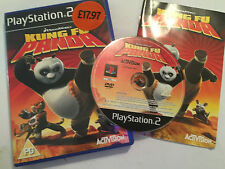 PAL SONY PLAYSTATION 2 PS2 GAME DREAMWORKS KUNG FU PANDA +BOX INSTRUCT' COMPLETE