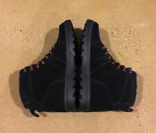 DC Woodland Boots Men's Size 9 Black Moc Toe Winter Boots BMX MOTO Sneakers
