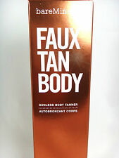 Bare Escentual  bareMinerals Faux Tan Body Tanner NIB 177ml/6oz