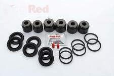 VW Touareg 5.0 Front Brake Caliper Piston Repair Kit Brembo 6 pot single 167