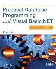 Practical Database Programming with Visual Basic. NET by Ying Bai (2012,...