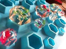 Silicone 3D Diamond Gem Cool Cube Ice Chocolate Mold Tray Party Maker Soap Mould