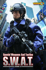 1/6 Action Figure VH 1026 VeryHot US SWAT Special Weapons And Tactics 2.0 Set