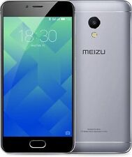 """New Imported Meizu M5s Duos Dual 16GB 3GB 5.2"""" 13MP 5MP Grey Color"""