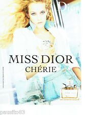 PUBLICITE ADVERTISING 046  2006  Dior parfum MIss Dior Chérie