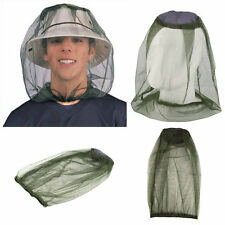 Midge Mosquito Insect Hat Bug Mesh Head Net Face Protector Travel Camping DE